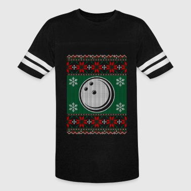 Ball-sweaters Bowling Ball Ugly Christmas Sweater - Vintage Sport T-Shirt