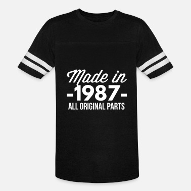 1987 All Original Parts Made in 1987 all original parts - Vintage Sport T-Shirt