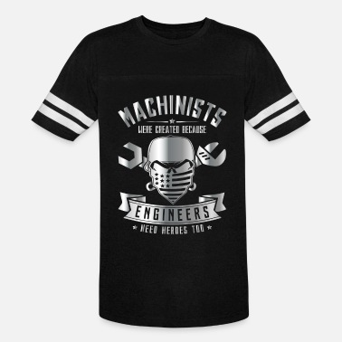Steam Engine Machinists because Engineers need Heroes - Unisex Vintage Sport T-Shirt