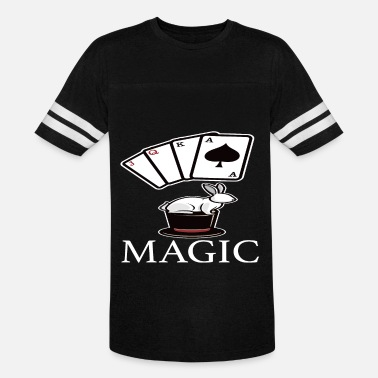 Cards Magic Magic Magic Card Trick - Unisex Vintage Sport T-Shirt