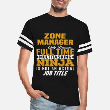 Zone Zone Manager - Unisex Vintage Sport T-Shirt