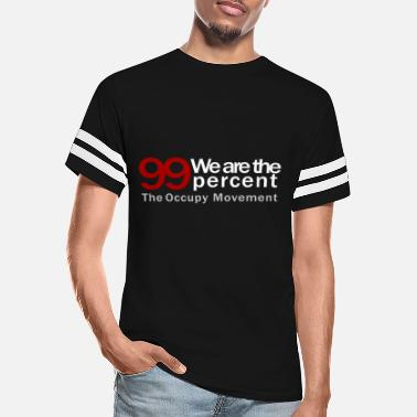 We Are The 99 Percent We are the 99 percent black - Unisex Vintage Sport T-Shirt