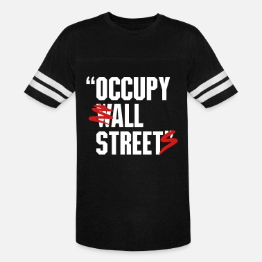 Occupy Wall Street OCCUPY WALL STREET - Unisex Vintage Sport T-Shirt