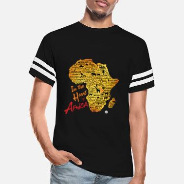 In the heart of Africa - Rwanda - Unisex Vintage Sport T-Shirt