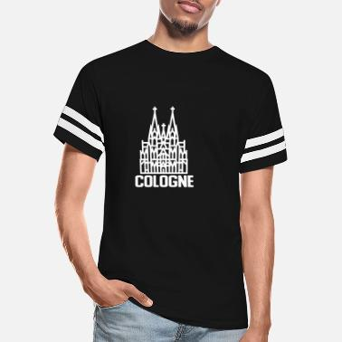 Cologne Cathedral Cologne Cathedral - Unisex Vintage Sport T-Shirt
