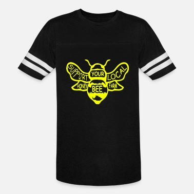 Pollinate Bee Bees Beekeeper Honey Quote - Unisex Vintage Sport T-Shirt