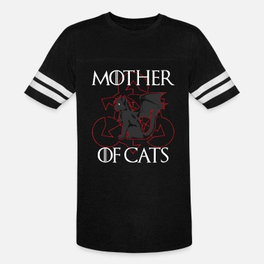 Mother Mother of Cats - Unisex Vintage Sport T-Shirt