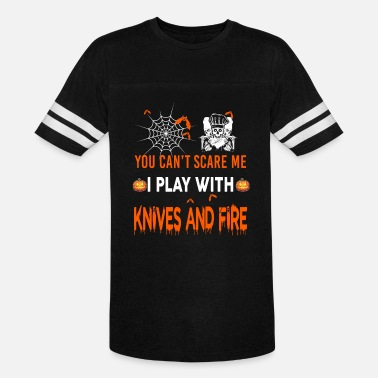 Kitchen Knives Knives And Fire - Unisex Vintage Sport T-Shirt
