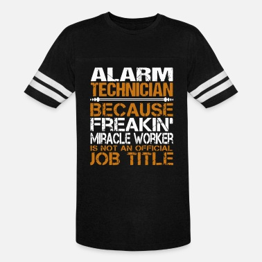 awesome Tee For Alarm - Unisex Vintage Sport T-Shirt