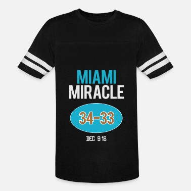 Miracle MIAMI MIRACLE - Unisex Vintage Sport T-Shirt