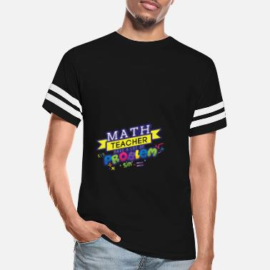 Instructions Math Teacher have a lot of Problem pi - Unisex Vintage Sport T-Shirt