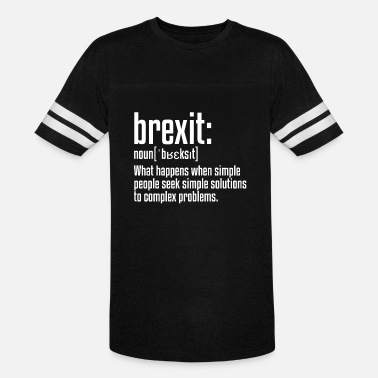 Eu Brexit Definition | British Exit, European Union - Unisex Vintage Sport T-Shirt
