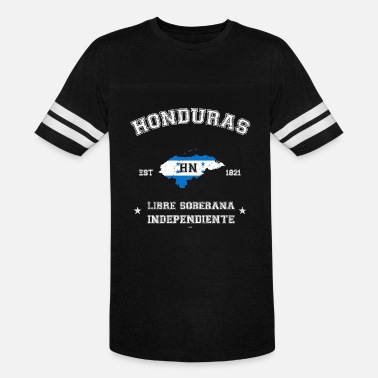 Reggaeton Honduras vintage map with date of founding - Unisex Vintage Sport T-Shirt