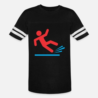 Slipping people slip - Unisex Vintage Sport T-Shirt