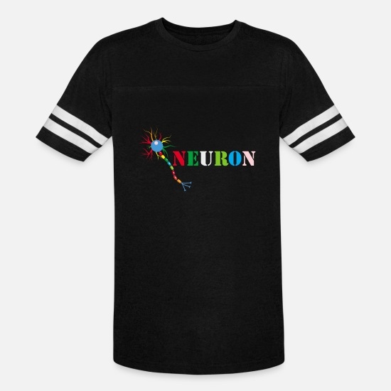 c2dde885be02 Scientific T-Shirts - Beautiful Brain Neuron colourful - Unisex Vintage  Sport T-Shirt