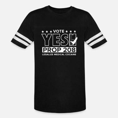 Prof Vote Yes Prof new - Unisex Vintage Sport T-Shirt