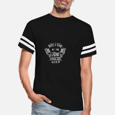 Spree Make it rain at the casino winning spree wow - Unisex Vintage Sport T-Shirt