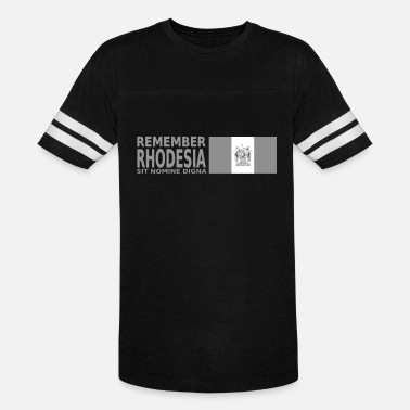 Remember Rhodesia Grey - Unisex Vintage Sport T-Shirt