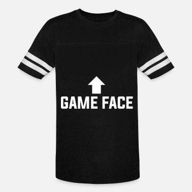 Game Face Gadget Nerd Geek Gamer - Unisex Vintage Sport T-Shirt