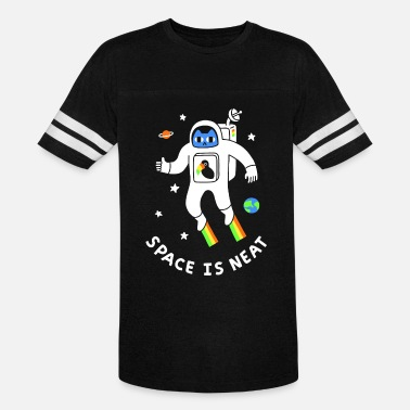 Futuristic Space Is Neat - Unisex Vintage Sport T-Shirt