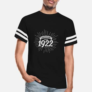 1922 Awesome since 1922 - Unisex Vintage Sport T-Shirt