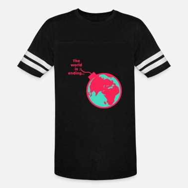 End Of World World ending - Unisex Vintage Sport T-Shirt