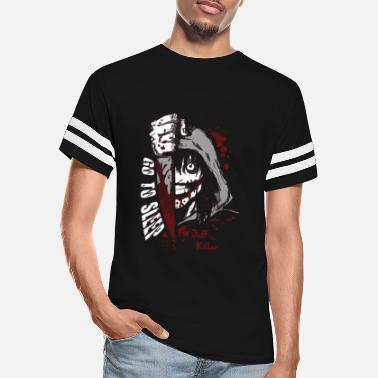 Jeff Buckley Jeff the killer - Go to sleep horror T - shirt - Unisex Vintage Sport T-Shirt