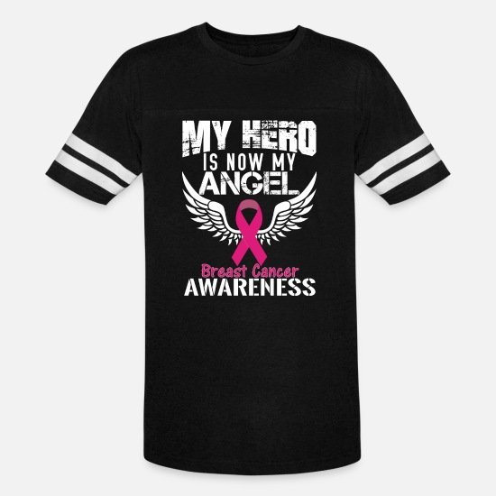 Cancer T-Shirts - Breast Cancer Awareness - Unisex Vintage Sport T-Shirt black/white