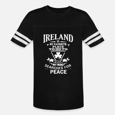 St. Pauli Patrick s Day Ireland Is My Favorite Place To Go - Unisex Vintage Sport T-Shirt