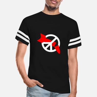 Disarmament Nuclear Disarmament Ani Bombs War Peace T Shirt - Unisex Vintage Sport T-Shirt