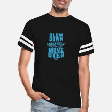 Tow Truck TOW TRUCKER: It's The Law Move Over - Unisex Vintage Sport T-Shirt
