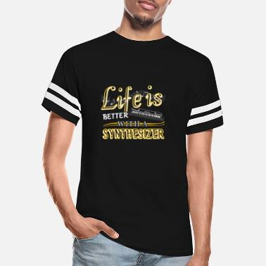 Synthesizer Life Is Better With Synthesizer Shirts - Unisex Vintage Sport T-Shirt