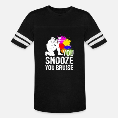 Snooze You Snooze You Bruise Paintball Shooting - Unisex Vintage Sport T-Shirt