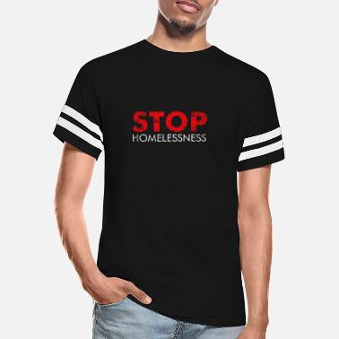 Homeless Stop Homelessness - Jail Is Not A Home - Unisex Vintage Sport T-Shirt