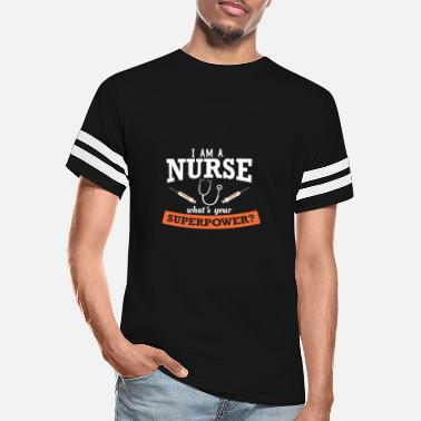 Tops nurse superpower, short sleeve woman t-shirt, - Unisex Vintage Sport T-Shirt