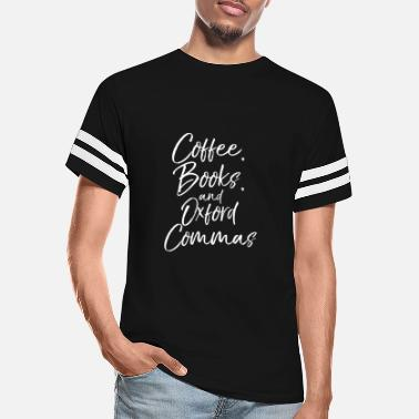 Oxfordshire Funny English Teacher Gift Coffee Books And Oxford - Unisex Vintage Sport T-Shirt