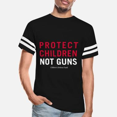 Protect Protect Children Not Guns - Unisex Vintage Sport T-Shirt
