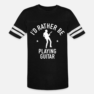 Cool Guitarist Playing Guitar Player Cool Funny Gift - Unisex Vintage Sport T-Shirt