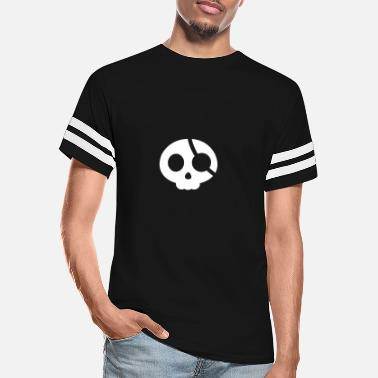 Eye Patch Skull with an eye patch - Unisex Vintage Sport T-Shirt