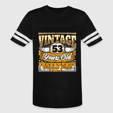 Funny 53th Birthday Shirt: Vintage 53 Years Old - Vintage Sport T-Shirt