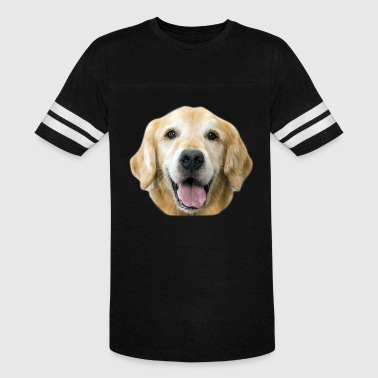 Face Golden Retriever T Shirt - Vintage Sport T-Shirt