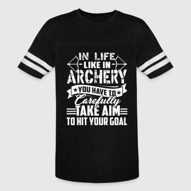 IN LIFE LIKE IN ARCHERY SHIRTS - Vintage Sport T-Shirt