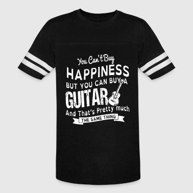 You can't buy happiness but you can buy a guitar a - Vintage Sport T-Shirt
