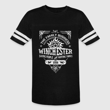 The family business winchester saving people and h - Vintage Sport T-Shirt