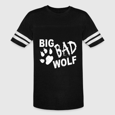 Big Bad Wolf Paw Distressed White Funny Novelty T - Vintage Sport T-Shirt