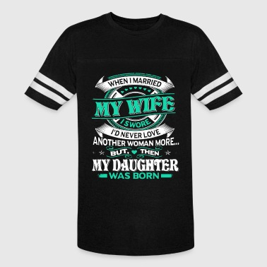 When i married my wife i swore i d never love anot - Vintage Sport T-Shirt