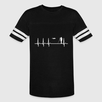 Heartbeat Spotting Airplanes Cool Funny Geek Gift - Vintage Sport T-Shirt