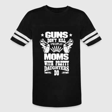 Guns Mom Shirt - Vintage Sport T-Shirt