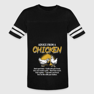 Chicken Advice Shirt - Vintage Sport T-Shirt