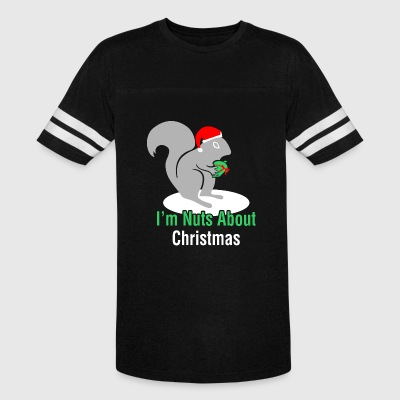 Im Nuts About Christmas - Vintage Sport T-Shirt